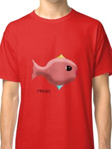 Pisces Sign of the Zodiac Classic T-Shirt