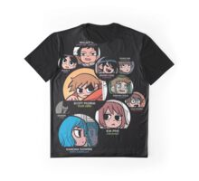 Scott Pilgrim characters Graphic T-Shirt