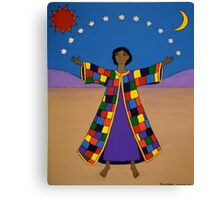 Joseph and His Coat of Many Colours Canvas Print