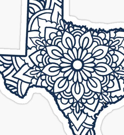 Texas Mandala Sticker