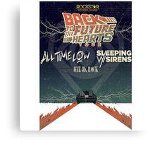 all time low sws sleeping with sirens future heart tour Canvas Print