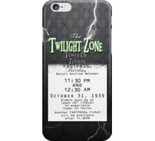 The Tower of Terror- Fast Pass iPhone Case/Skin