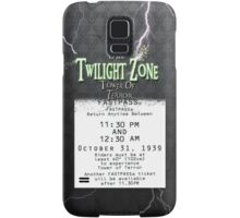 The Tower of Terror- Fast Pass Samsung Galaxy Case/Skin