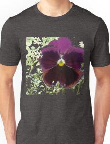 A Glitch in the Flower Matrix Unisex T-Shirt