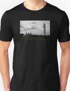 Dramatic Lighthouse on Hill Unisex T-Shirt