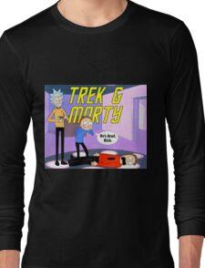 Trek & Morty Long Sleeve T-Shirt