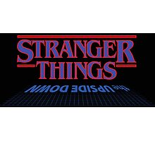 Stranger Things - The Upside Down Photographic Print