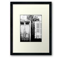 Pacasmayan Door - Peru Framed Print