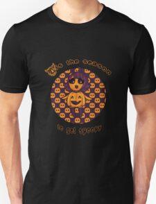 Spoopy pumpkin girl Unisex T-Shirt