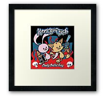 Candy Coated Fury Album Framed Print