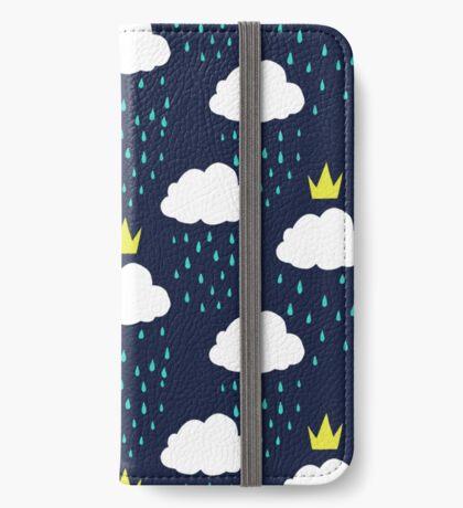 Royal Rain Clouds iPhone Wallet/Case/Skin