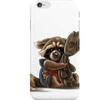 Rocket and Groot iPhone Case/Skin