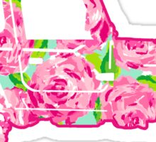 Lilly Pulitzer Inspired Jeep | 987432 Sticker