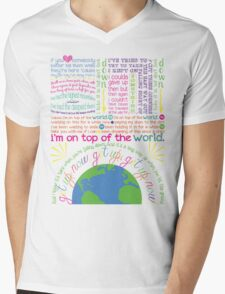 On Top Of The World (2) Mens V-Neck T-Shirt