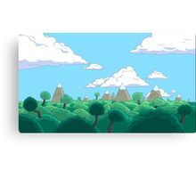 Adventure time lovely day! Canvas Print