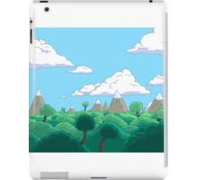 Adventure time lovely day! iPad Case/Skin