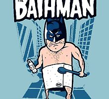 Bathman - Funny Batman by Mellark90