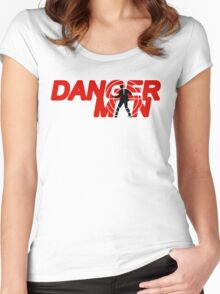 Danger Man AKA Man of Danger Women's Fitted Scoop T-Shirt