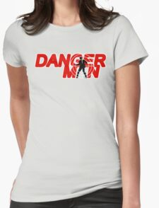 Danger Man AKA Man of Danger Womens Fitted T-Shirt