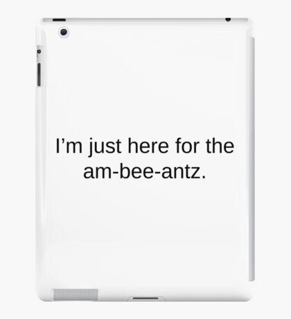 am-bee-antz iPad Case/Skin