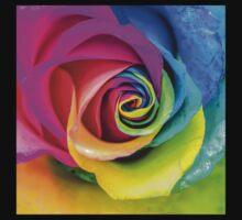 Beatiful Colorful Rainbow Rose by MMPhotographyUK