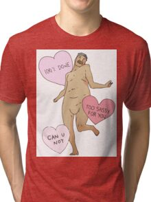Attack On Titan 'Tumblr Style Running Titan' Tri-blend T-Shirt