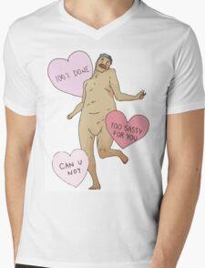 Attack On Titan 'Tumblr Style Running Titan' Mens V-Neck T-Shirt