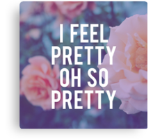 Oh, So Pretty! Canvas Print