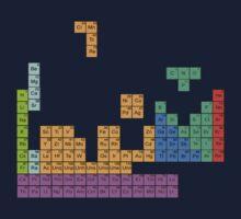 Periodic Tetrominoes One Piece - Short Sleeve