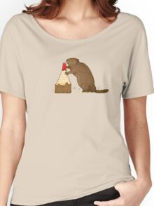 The Beaver And The Color Women's Relaxed Fit T-Shirt