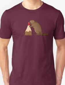The Beaver And The Color Unisex T-Shirt