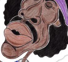 Classic Rock 60's Funny Caricature Sticker
