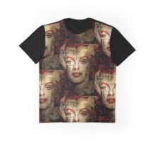 Red Marilyn Graphic T-Shirt