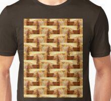 ruins of a brick foundation, Ft Stevens 2 pattern Unisex T-Shirt