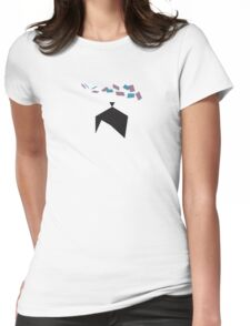 Kubo's Origami Dreams Womens Fitted T-Shirt