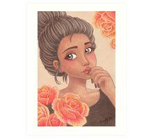 Lena Art Print