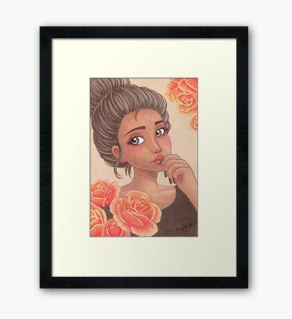 Lena Framed Print