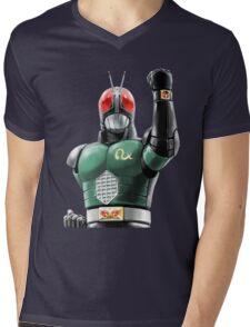 kamen rider rx ready Mens V-Neck T-Shirt