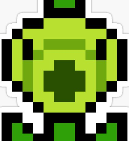 Pixel Peashooter Sticker