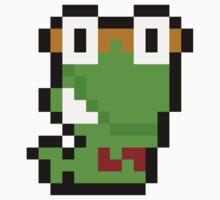Pixel Bookworm One Piece - Short Sleeve