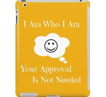 I Am Who I Am iPad Case/Skin