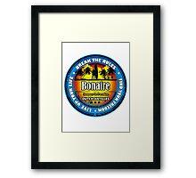Summer Style Bonaire Framed Print