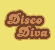 Disco Diva - Retro 70s - Logo Baby Tee