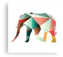 Elephant: Abstract Canvas Print