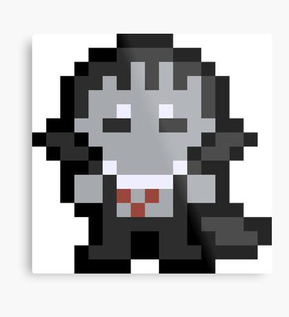 Pixel Drake Metal Print