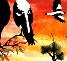 Southern Cross Magpies 4 Sticker