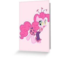 Jolly Pinkie Pie Greeting Card