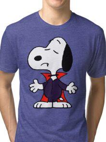 snoopy dracula Tri-blend T-Shirt