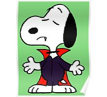 snoopy dracula Poster