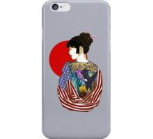 The Illustrated Woman iPhone Case/Skin
